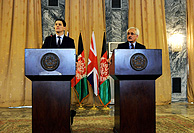 Foreign Secretary in Afghanistan, AFP/Getty Images