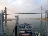 Wave Ruler Enters Suez