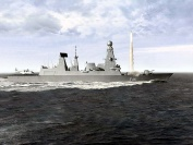An impressions of the new Type 45 Air Defence Destroyer and its PAAMS (Principle Anti Air Missile System)