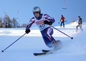 Maj Mark Perrin RM at the Ski Champs2009