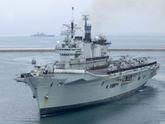 HMS Illustrious comes home