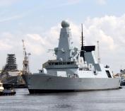 Daring sea trials