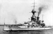 HMS Iron Duke, Admiral Jellicoe's flagship at the Battle of Jutland