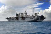 HMS Ocean on major amphibious exercise in Cyprus