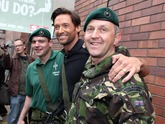 Royal Marine Commandos help the Sun raise £50, 000 for Help for Heroes Charity.