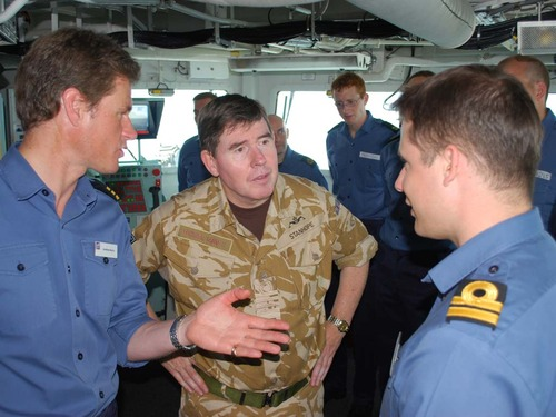 Admiral Stanhope visiting TAURUS 09 ships