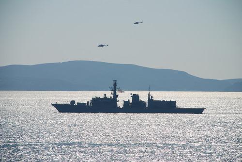 HMS Somerset on TAURUS 09