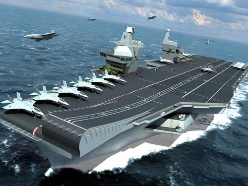 Artist impression of Future Carrier