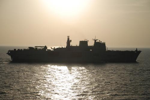 HMS Ocean on TAURUS 09