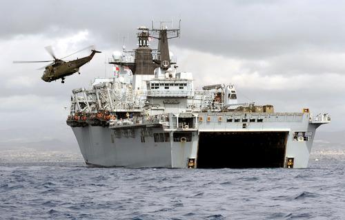 HMS Bulwark on Exercise Cyprus Wader