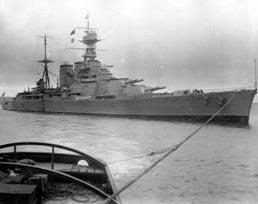 HMS Hood, 1920