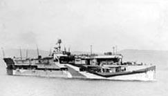 Aircraft carrier HMS Furious in November 1942