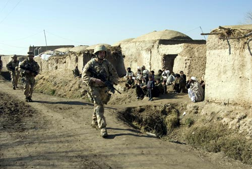 Lima Company, 42 Commando Royal Marines Group carry out operations in the Helmand province of Southern Afghanistan to bring security to the surrounding area