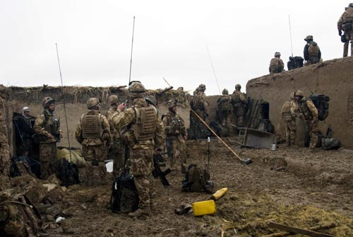 Lima Company, 42 Commando Royal Marines Group carry out operations in the Helmand province of Southern Afghanistan to bring security to the surrounding areas