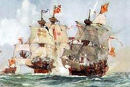 Capture of the Scottish ship Lion, 1511