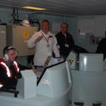 In the Ship Control Centre