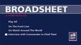 interview with commander in chief fleet