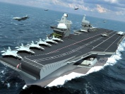 Artist impression of Queen Elizabeth Class