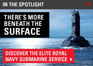 In the spotlight - submarine service