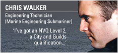 Engineering Technician (Marine Engineering Submariner)