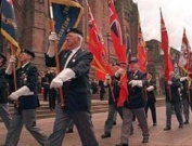 Battle of Atlantic march past