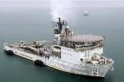 The Royal Fleet Auxilliary Ship Diligence