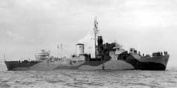 HMS Betony, a Flower class corvette, September 1943