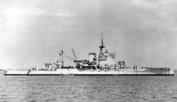 HMS Warspite, Admiral Cunningham's flagship in the Mediterranean