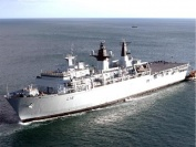 HMS Albion Sails for Amphibious Exercises