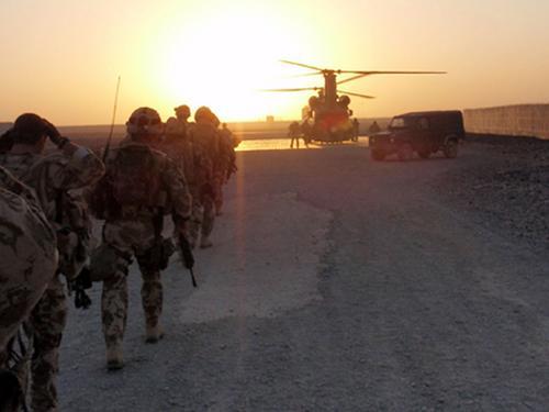 40 Commando in Afghanistan