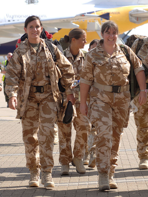 Joint Forces Medical Group return to the UK from Afghanistan