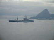 RFA Gold Rover at Navy Days in Rio