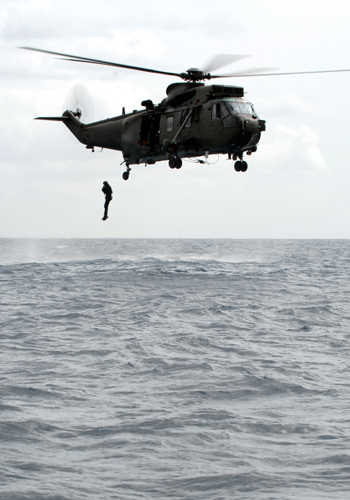 Thousands of Royal Navy sailors, Royal Marines and airmen are taking part in a major amphibious exercise in Cyprus