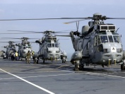 Royal Navy Sea King Mk 6 and 7