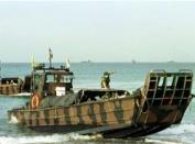 Royal Marines Beach Landing