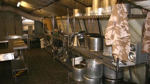 """""""The Galley"""" Kitchen area"""