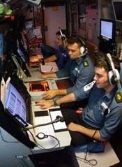 The Sound Room on HMS Torbay