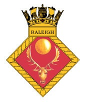 HMS Raleigh Badge