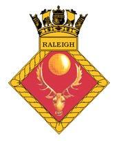 HMS Raleigh Badge
