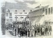 The execution of Nathanial Gordon