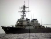 Periphot of USS Mitscher