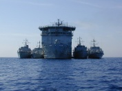 RFA Diligence with the four members of the Mine Counter Measures Group (MCM)
