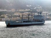 RFA Oakleaf in Gibraltar