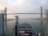 Wave Ruler Enters Suez
