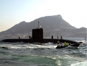 HMS Tireless at Gibraltar