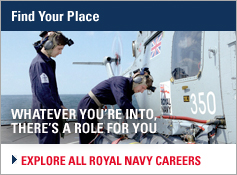 Find your place - Explode all Royal Navy careers