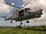 Lynx Helicopter in the Belize Jungle