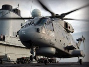 Merlin EH101 from 814 NAS on HMS Illustrious