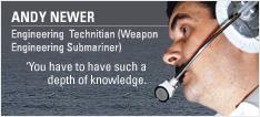Engineering Technician (Weapon Engineering Submariner)