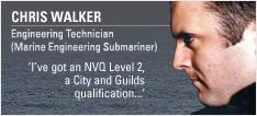 Engineering Technician (Marine Engineering Submariner)